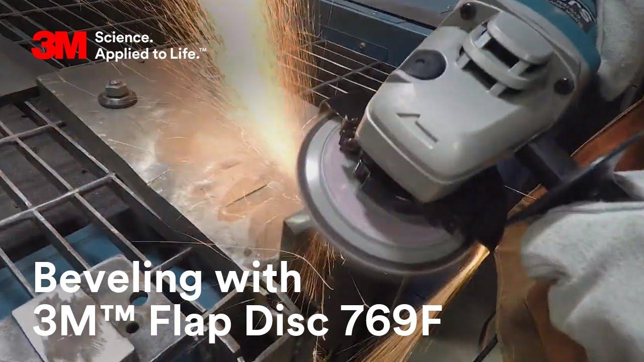 3m flap discs test